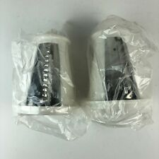 New listing Presto Salad Shooter 2 Slicers For Tube Shooter Replacement Part Model Hg23