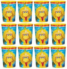 Sesame Street  Elmo 16oz Party Plastic Cup Party Favor Supplies 12ct