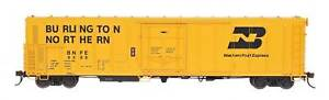 InterMountain HO RR-34802 BNFE Yellow R-70-15 Refrigerator Car