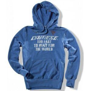 DAINESE Sweatshirt FELPA AFTER RACE PRINCESS BLUE XL,L