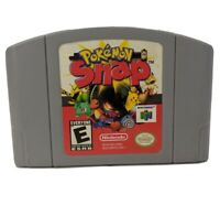 Pokemon Snap Nintendo 64 N64 Tested Game Authentic Free Shipping!