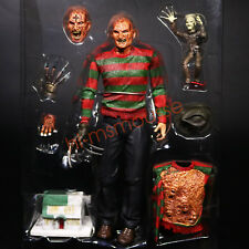"NECA Nightmare on Elm Street Ultimate Dream Warriors Freddy 7"" Figure No Box"