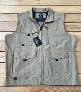 Redhead NWT Men's Ripstop Fishing vest size L In Khaki i2