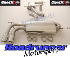 "Milltek Golf GTI MK5 & Edition 30 Exhaust System 2.75"" Cat Back Resonate GT80 EC"