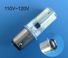 1x BA15D 120V Warm White bulb 64Led 3014SMD Fit Kenmore/Singer 221/222K/301A/401