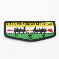 Boy Scout Oala Ishadalakalish Lodge 561 OA Flap Patch BSA WWW