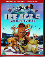 Ice Age 5 - Collision Course - 3D Blu Ray + Blu Ray + Digital - Brand New & Seal