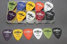 25pcs Acoustic Guitar Picks Plectrums Alice Assorted 6 thickness Hottest Cheap