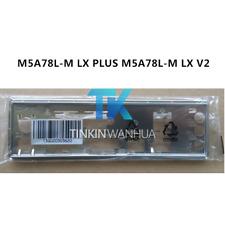 I/O SHIELD back plate BLENDE BRACKET for ASUS  M5A78L-M LX PLUS M5A78L-M LX V2