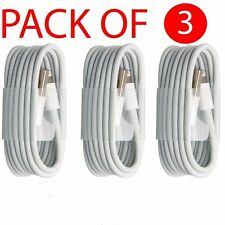 Pack Of 3 USB Data cable Charging lead for Apple iPhone 5/5s/6/6s/7/7Plus/iPad