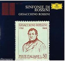 Rossini: Sinfonie Da opere / Tullio Serafin, orchestra Dell'Opera Di Roma LP DGG