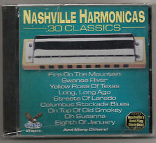 NASHVILLE HARMONICS (CD) 30 CLASSICS, NEW SEALED