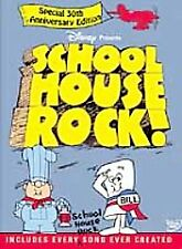 Schoolhouse Rock The Ultimate Collectors Edition DVD 2-Disc 30th Anniversary