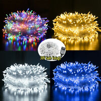 Christmas Fairy String Lights 20-500 LEDs Wedding Party Holiday Tree Festival US