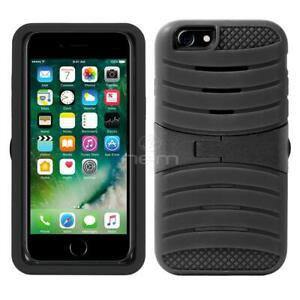 Heavy Duty Dual Layer Stand Rugged Armor Case Cover For IPhone SE 2020 /8/7/6/6S