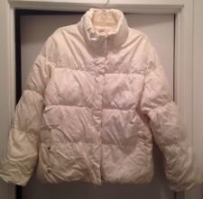 Ladies Ivory Puff Coat (XL)