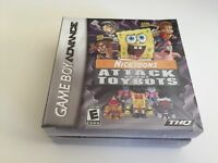 Nicktoons: Attack of the Toybots (Nintendo Game Boy Advance, 2007) GBA NEW