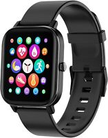 Smart Watch,Smartwatch for Android Phones and iOS Phones,Fitness Tracker (Black)