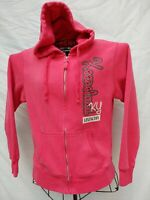 KEENELAND RACE TRACK RED HOODED WOMENS SWEATSHIRT Med HORSE CAPITAL LEXINGTON KY