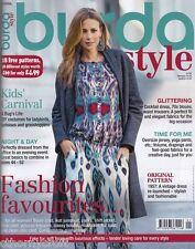 Burda Style Magazine 1/2016 -18 Uncut Patterns - 58 Different Styles NEW