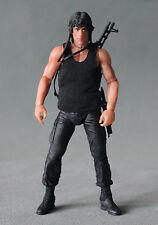 "NOX-TK-B: Tank Top for 7"" Wresting, NECA Rambo, or DST Wolverine Figure - Black"