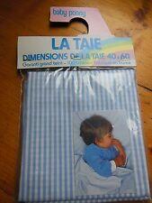 taie d'oreiller vintage enfant encore sous blister  40 cm sur 60 cm BABY PONEY