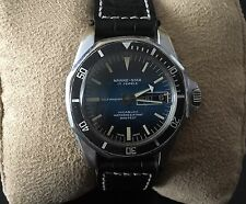 Genuine Vintage Watch MARINE-STAR by Sicura/breitling Automatic,day And Date