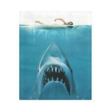 Hidden Risk White Shark Underwater Bedding Duvet Cover Quilt Cover 86 x 70 Inch