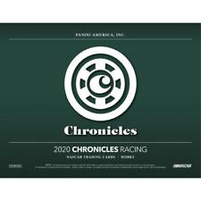 Brittney Zamora 2020 PANINI CHRONICLES RACING 16 BOX FULL CASE DRIVER BREAK