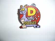 Disney trading pin -  Hidden Mickey Pin - Figment  Discover 11-14  -  3 of 4
