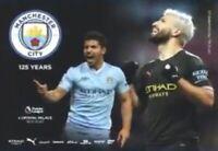 Manchester City v Crystal Palace 2019/20 Premier Programme Free Uk Post