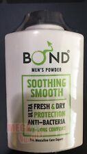 BOND GET CLOSER Powder for Men SOOTHING SMOOTH Men Intimate Talcum 100g