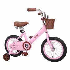 Stitch 12''/14'&# 039;/16'' Pink Kids Bike Forest Princess Kids Girls Bike Foot Break