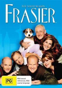 Frasier - Season 6 - 4 Disc Set - New & Sealed Region 4 DVD - FREE POST