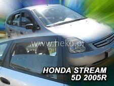 HEKO Windabweiser HONDA STREAM 5-türer 2000-2007 4-tlg  Regenabweiser | 17156