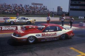 "Bob Glidden Ford Thunderbird Pro Stock Poster 11""x17"" Photo 3"