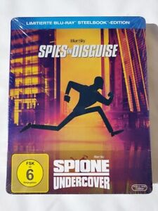 Spione Undercover (2020)[Blu-ray im Limited Steelbook /NEU/OVP] Animation