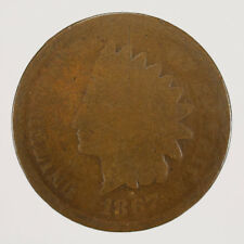 1867 1c INDIAN HEAD SMALL CENT LOT#D664