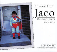 JACO PASTORIUS : Portrait of Jaco - the early years 1968-78 (2 CD + booklet)