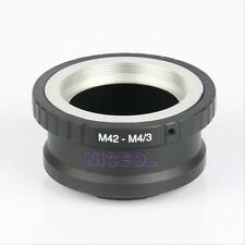 Lens Adapter Ring Mount M42-M4/3 for Takumar M42 Lens and Micro 4/3 M4/3 Mount
