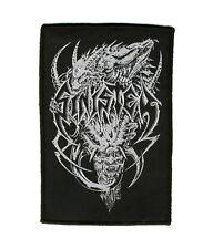SINISTER - Devil Logo - Aufnäher / Patch gewebt/woven - Neu #7085