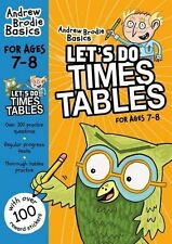 Let's Do Times Tables 7-8 New Paperback Book Andrew Brodie