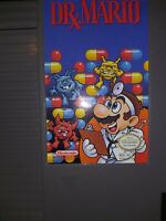 Dr Mario (Nintendo NES) Cart Only GOOD Shape Authentic Tested