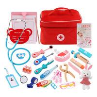Jouet pour les Enfants de Docteur Semblant Outil D'Injection D'InfirmièRe D K2C4