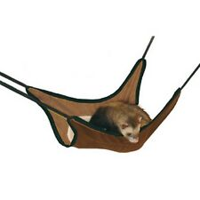 Hammock For Ferret Brown Suede