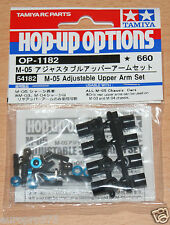 Tamiya 54182 M-05 Adjustable Upper Arm Set (M05/M05Ra/M-05Ra/Mini/Swift), NIP