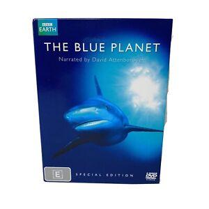 The Blue Planet BBC Special Edition DVD 4 Disc Box Set Reg 4 David Attenborough