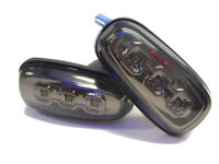 For Vauxhall Zafira A 99-05 LED Smoked Chrome Side Repeaters Indicators Blinkers