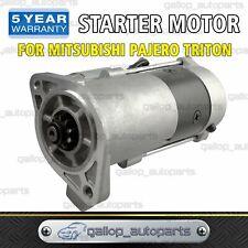 Starter Motor fits Mitsubishi TRITON DIESEL MK 2.8L 4M40T ML 3.2L 4M41 M8T75071
