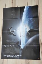 Filmposter Filmplakat DIN A1 - Gravity - Sandra Bullock - George Clooney - Neu